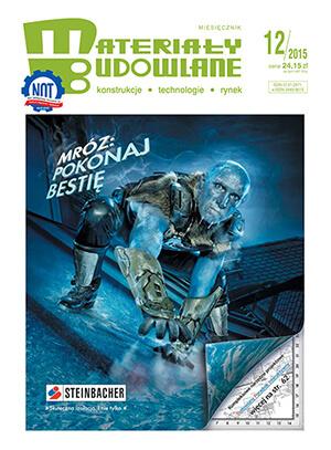Materiały budowlane okładka magazynu 2015